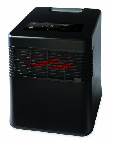 Honeywell HZ-980 MyEnergySmart Infared Whole Room Heater,Black