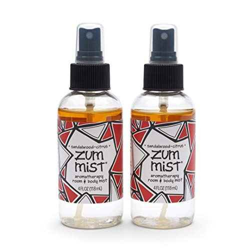 Zum Mist Room and Body Spray - Sandalwood-Citrus - 4 fl oz (2 Pack)