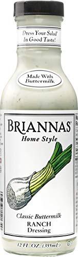 BRIANNAS Classic Buttermilk Ranch Dressing, 12 Fl Oz