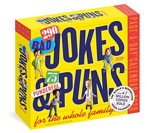 Funny jokes and puns calendar