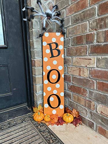 Boo Sign Halloween Porch Decor