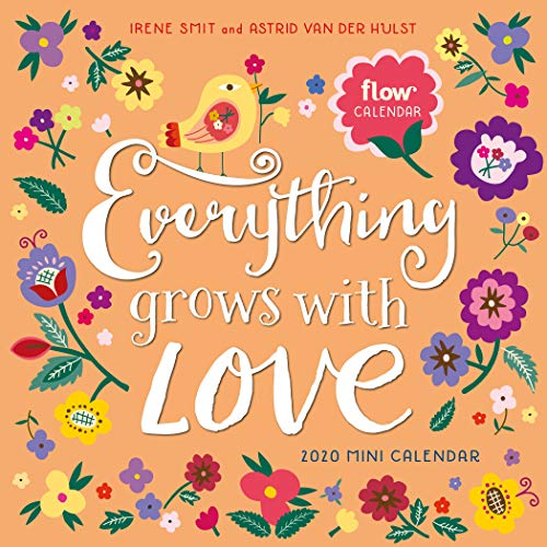 Everything Grows with Love Mini Wall Calendar 2020 (Flow)
