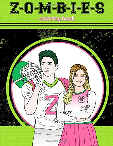Z-O-M-B-I-E-S Coloring Book: 60 Premium Quality Images