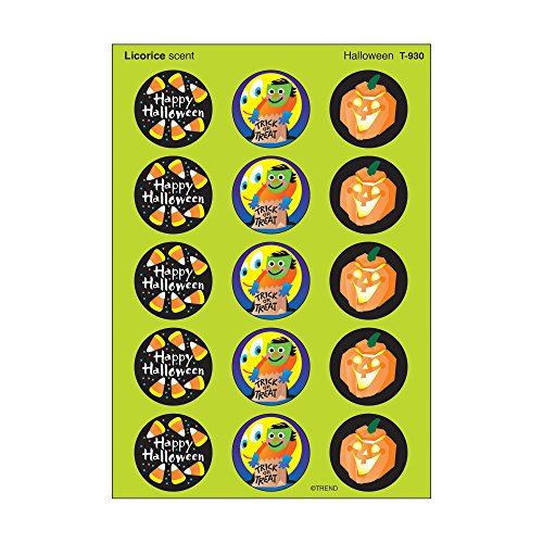 TREND enterprises, Inc. Halloween/Licorice Stinky Stickers, 60 ct.