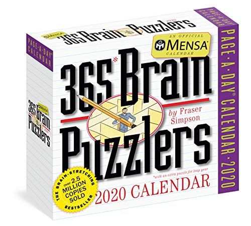 Brain Puzzlers Page-A-Day Calendar