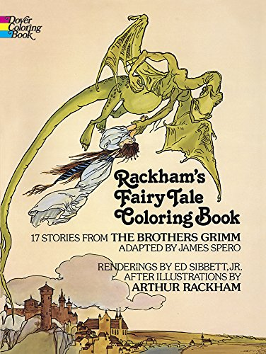 Rackham's Fairy Tale Coloring Book (Dover Classic Stories Coloring Book)