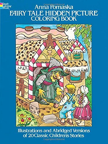 Fairy Tale Hidden Picture Coloring Book (Dover Children's Activity Books)