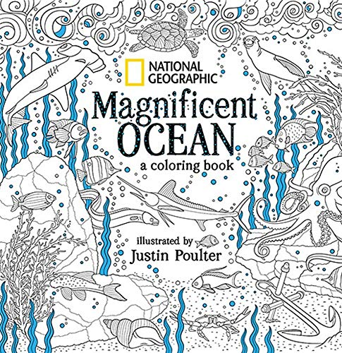 National Geographic Magnificent Ocean: A Coloring Book