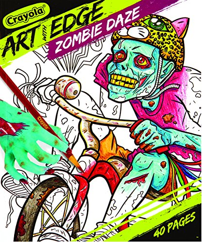 Crayola Art with Edge, Zombie Daze Coloring Book