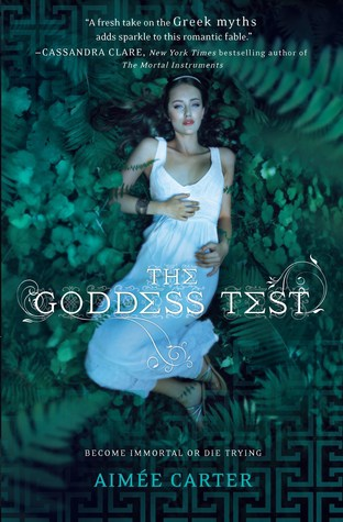 The Goddess Test by Aimee Carter Book Review- The Goddess Test