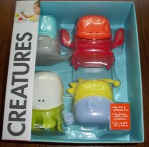 Creatures Bath Toys