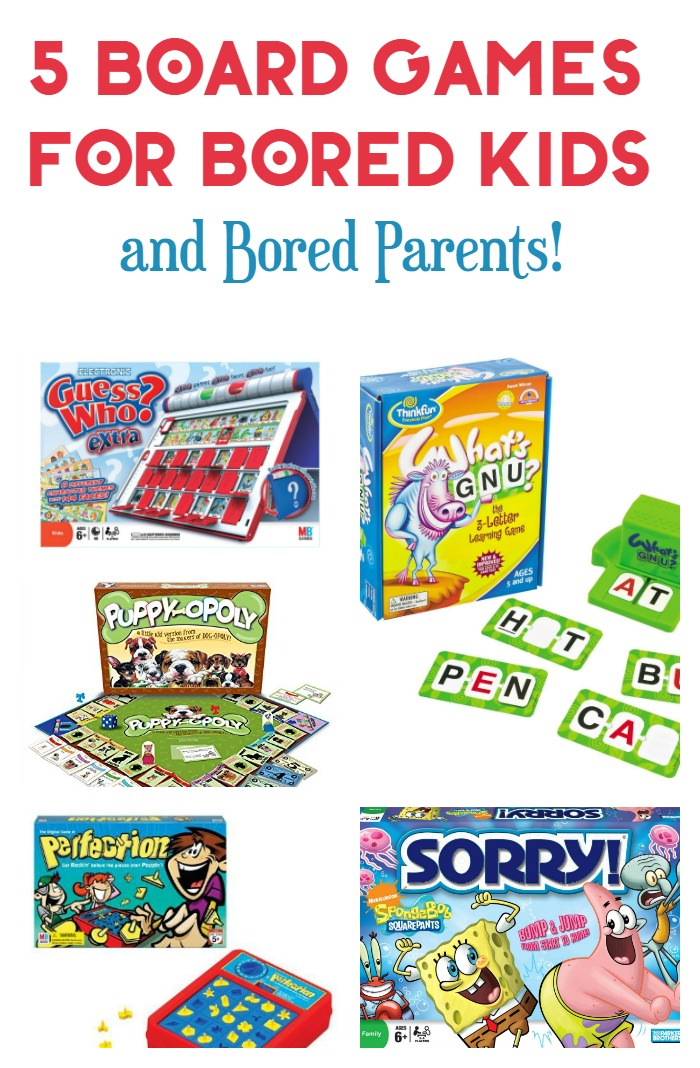 Games For 3 Year Olds: Five Awesome Board Games For Young School-Age Kids