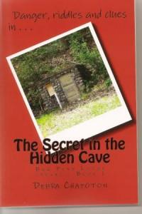 The Secret in the Hidden Cave scan1 Author Spotlight: Debra Chapoton