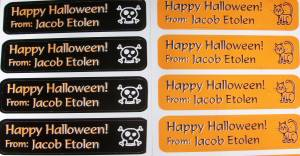 100 1624 Lovable Labels Halloween Pack- Review and Giveaway
