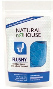 Flushy Natural House Natural Cleaning Products Review
