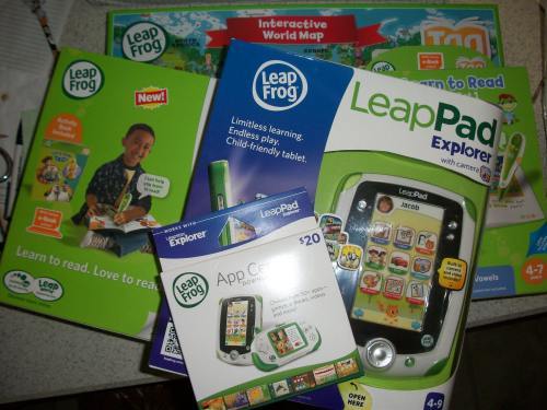 "100 1620 We Had a LeapFrog ""Learn, Create, and Share"" Party!"