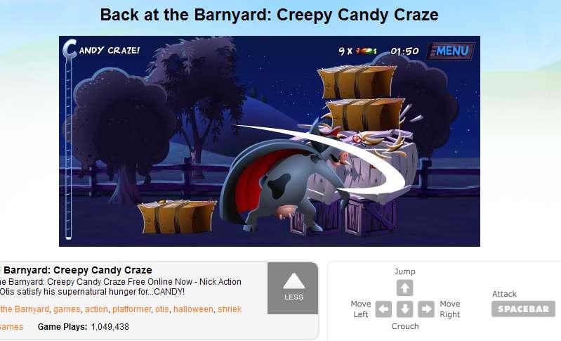 Barn Fun Online Halloween Games For Kids