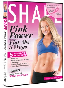 SHAPE Pink Power Flat Abs 5 Ways Shape's Pink Power: Flat Abs 5 Ways