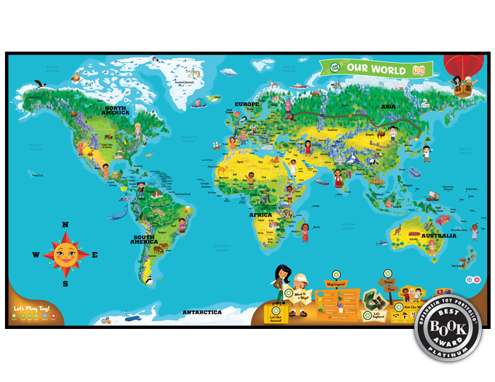 "tag sw worldmap a 00 s6 29201 We Had a LeapFrog ""Learn, Create, and Share"" Party!"