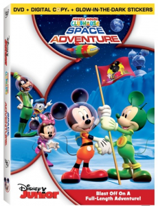 Mickey Mouse Clubhouse: Space Adventure on DVD Review