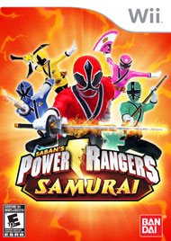 231205b Power Rangers Samurai For Wii and Nintendo DS