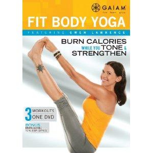 Gwen Lawrence Fit Body Yoga DVD Review