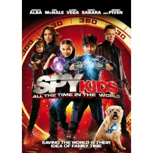 51prrdhA9FL. SL500 AA300 Spy Kids: All the Time in the World DVD Review