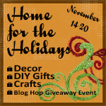 Home for the Holidays Giveaway Hop- Win a Gorgeous Handmade Wreath