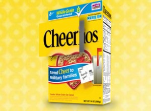 Cheerios Helps Spread Cheer to Families of Troops