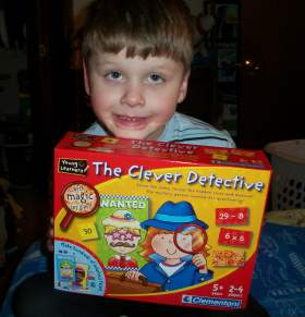 The Clever Detective Game Review+ $20 CreativeToyshop.com GC Giveaway