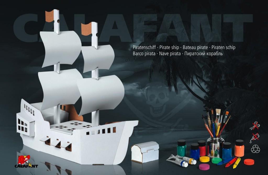 1284 CreativeToyShop Calafante Pirate Ship Review+ $20 GC Giveaway