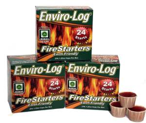 Enviro-Log Firestarter- Start Your Fires The Easy Way (With Giveaway)