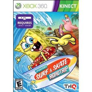 61L+q1PTHNL. AA300 Spongebob Surf & Skate Roadtrip For Kinect Review