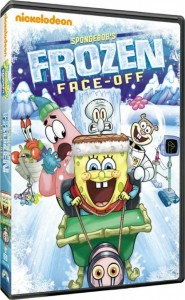Spongebob's Frozen Face-Off DVD Review