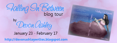 Falling In Between Blog Tour- Interview with Author Devon Ashley