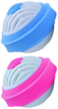 robby wash blue fuchsia Robby Wash Ball Review