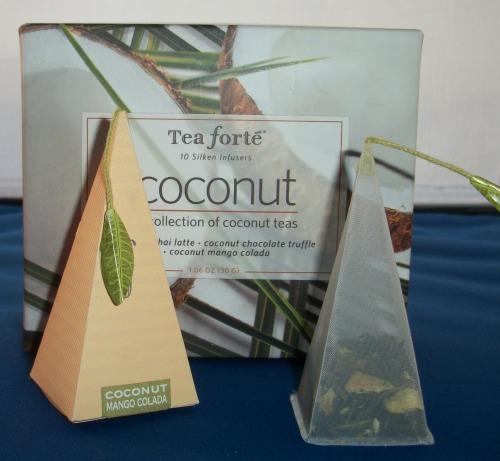 100 2292 Tea Forté's Coconut Collection Review