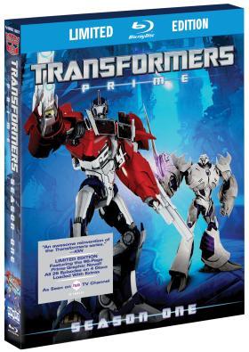 TransformersPrimeSeason1 BD CoverArt Transformers Prime: The Complete First Season Sneak Peek Video