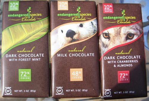 100 2628 Earth Day Green Giveaway: Win Endangered Species Chocolate!