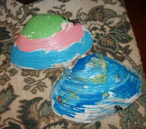 100 2916 Super Easy Seashell Craft For the Not-So-Crafty