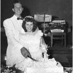 Wordless Wednesday: My Grandparents' Wedding Photo