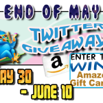 End of May Twitter Giveaway: Win $40 Amazon GC