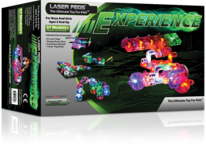 experience box Create Unique Models With Laser Peg Experience