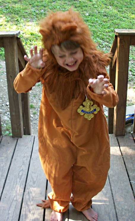 Wizard of Oz Cowardly Lion Costume Review