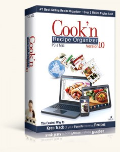 Cook'n Recipe Organizer Review + Giveaway