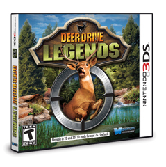 DDL.3DS.3D.front .lf .med Father's Day Gift ideas Sponsor: Maximum Games Deer Drive Legends