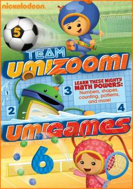 Team Umizoomi Umigames Team Umizoomi: UmiGames DVD Review