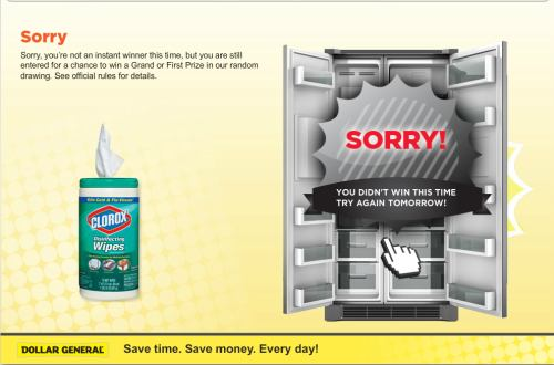 sorry It Pays to Vacation at Home with Clorox® and Dollar General