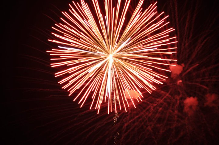 Happy 4th of July: Virtual Fireworks Display