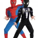 Reversible Spiderman Costume for the Kid That Can't Decide!